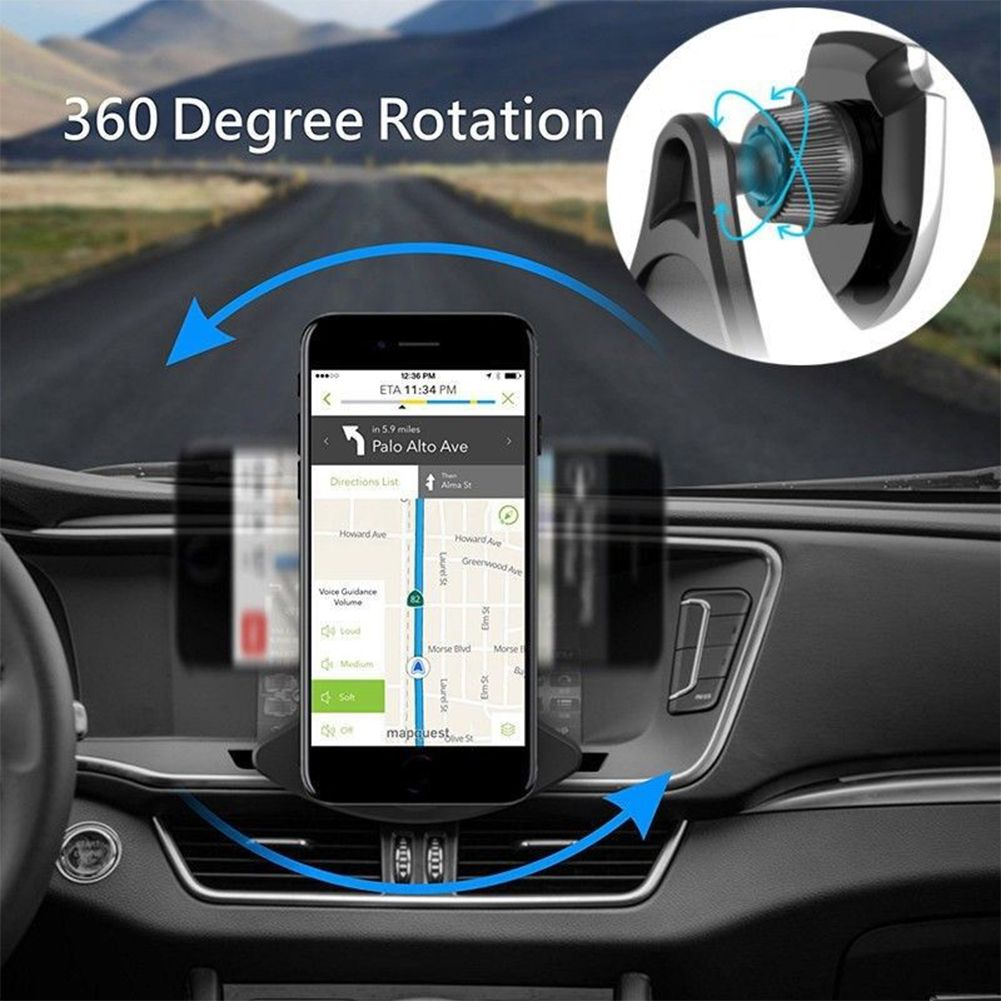 360 magnet cd schlitz kfz halterung auto handy halter. Black Bedroom Furniture Sets. Home Design Ideas