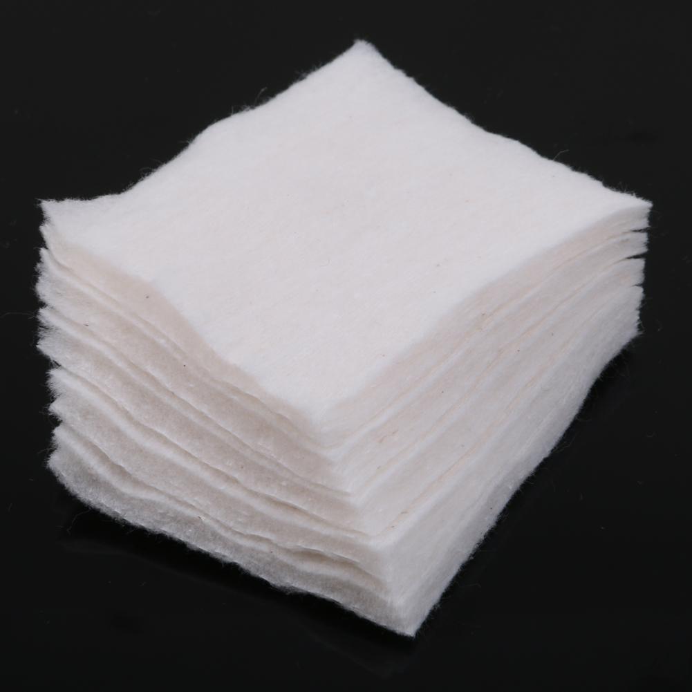 5pcs Pack Japanese Grown 100 Organic Cotton 5 Pads Rda Rba Vape Muji For Wick White