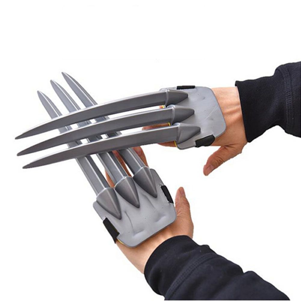 Action- & Spielfiguren Wolf Wolverine Claws Plastic Toys&Wolverine Mask Cosplay Props Halloween Gift ds