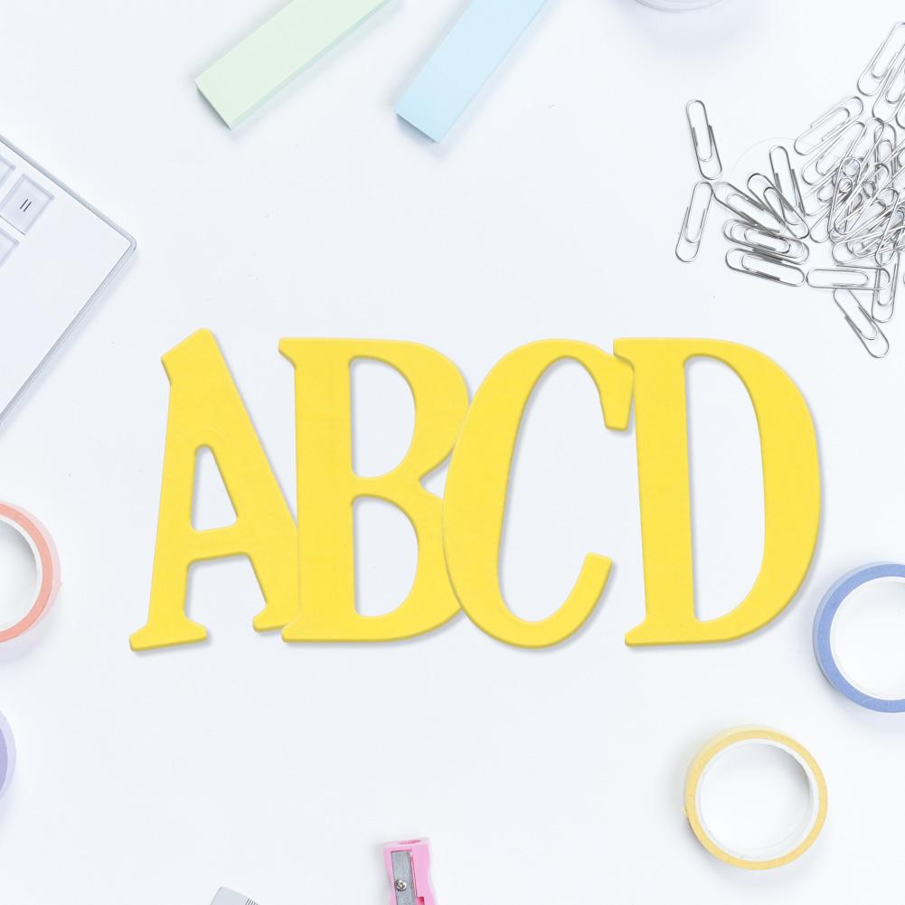 Large Letter Die Cuts 5cm Large Big Alphabet Letters A Z Cutting Dies Stencils