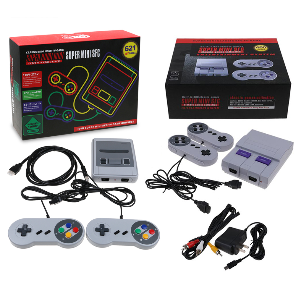Super SNES Classic Mini SFC HDMI Game Console Entertainment 621 Games Gifts | eBay
