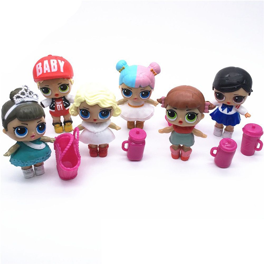 Action Figure Lol Doll Toys Kids Surprise Dress Toy Girls