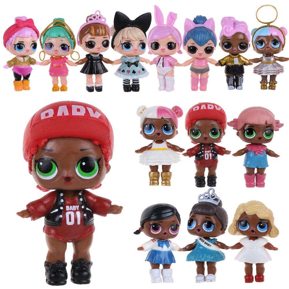 6/8Pcs LOL Surprise Doll Blind Mystery Toy Set PVC Figure ...
