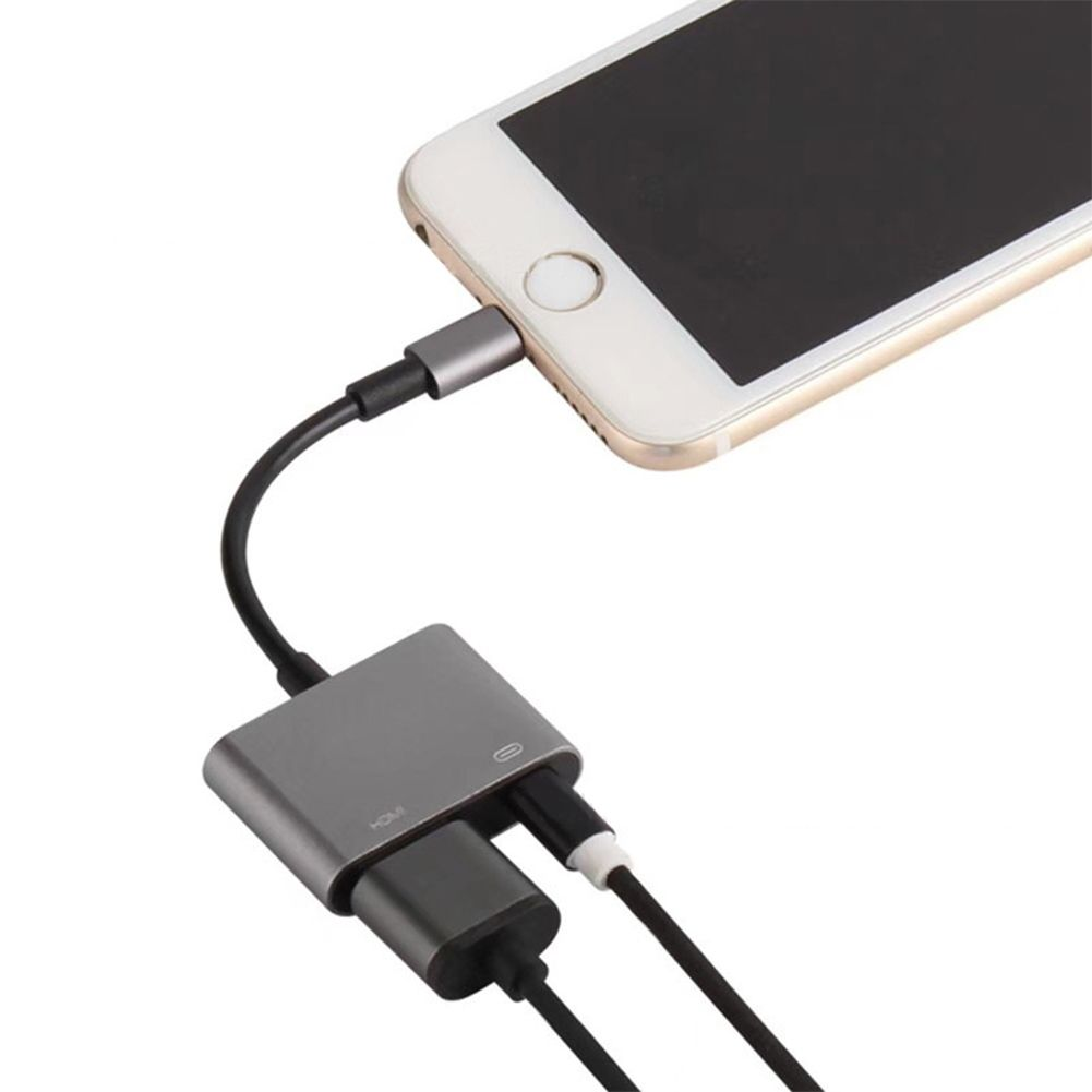 how to connect iphone 6 to tv with hdmi cable