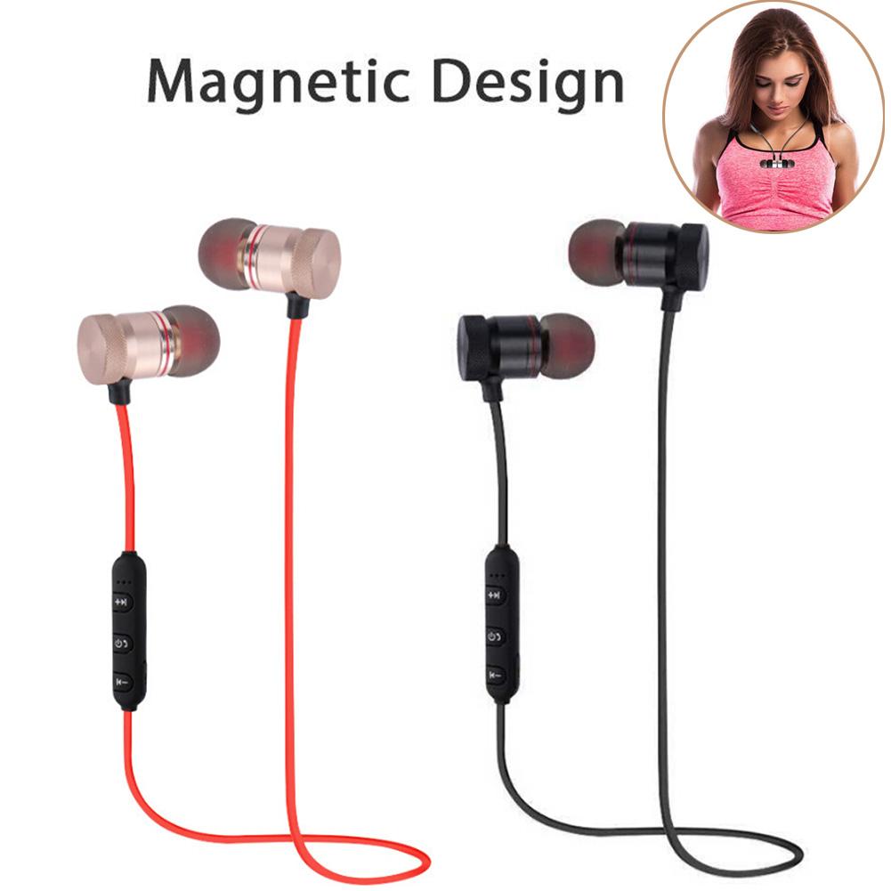 bluetooth sport kopfh rer headsets in ear wireless ohrh rer magnetverschluss mik ebay. Black Bedroom Furniture Sets. Home Design Ideas