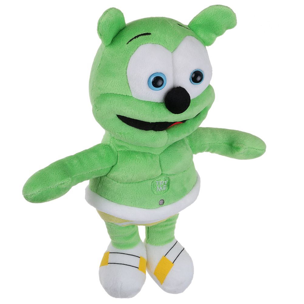 cd3a0e484b2d03 Details about Singing I AM A GUMMY BEAR Musical Gummibar Soft Plush Doll  Toy Teddy Gifts ToP