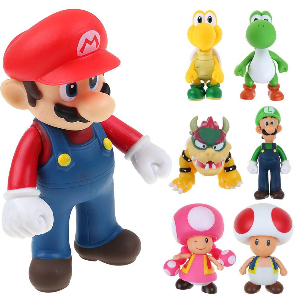 New Super Mario Bros Mario Luigi Bowser Toad Donkey Kong