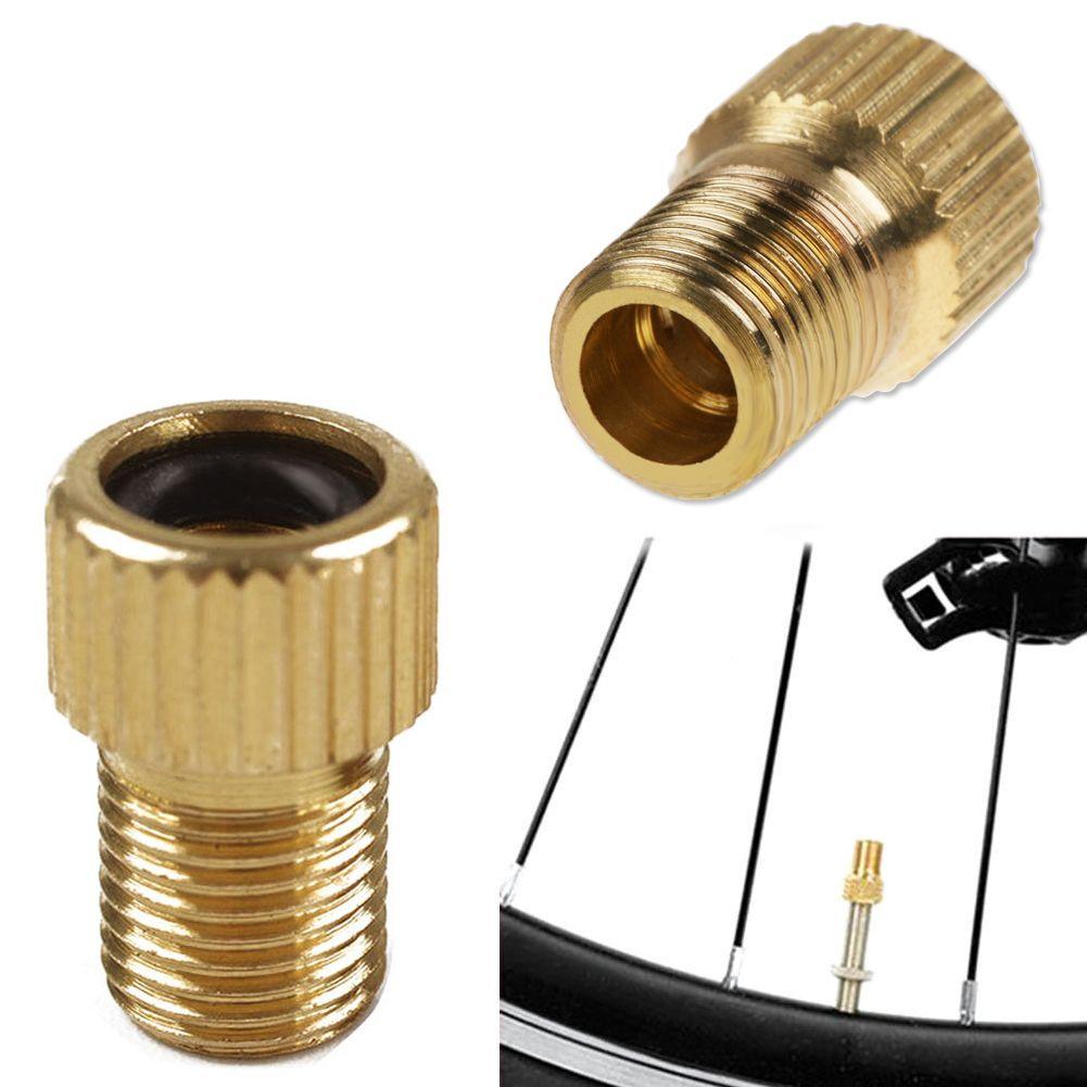 2pcs fahrrad ventil adapter dv sv franz sisches auf dunlop. Black Bedroom Furniture Sets. Home Design Ideas