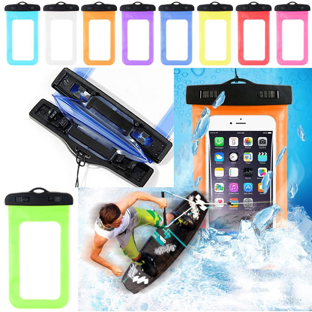 in stock 2d468 8225d Details about Waterproof Phone Case Anti-Water Pouch Dry Bag Cover for  iPhone Samsung HTC LG