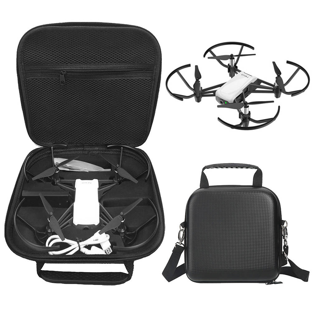 For DJI Tello Drone Waterproof Portable Shoulder Bag Carrying Case Storage Box