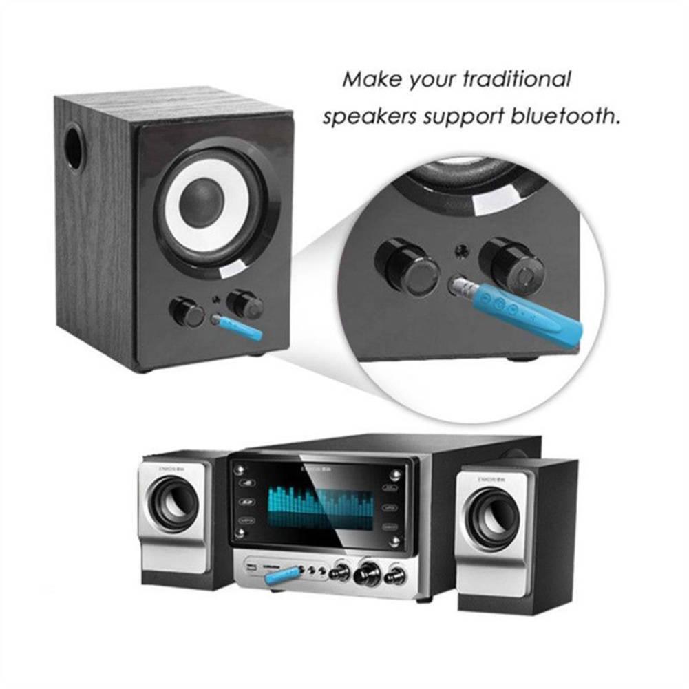 wireless bluetooth v4 1 car kit 3 5 mm klinke aux audio. Black Bedroom Furniture Sets. Home Design Ideas