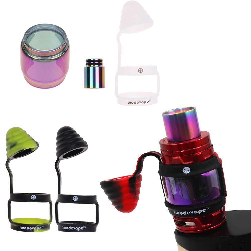 Fatboy Glass Tube Drip Tip Dust Cap Cover For Smok Tfv12