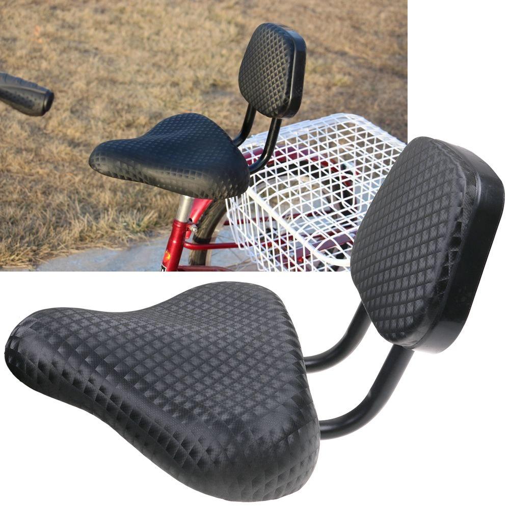 Schleppersitz Fahrersitz Sattel Rücksitz Rückenlehne Kissen für Dreirad Fahrrad