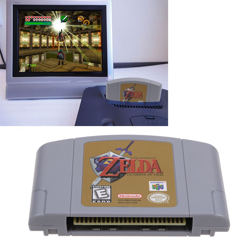 Details about For Nintendo 64 N64 Game Cartridge Card - The Legend Of Zelda  Ocarina of Time US