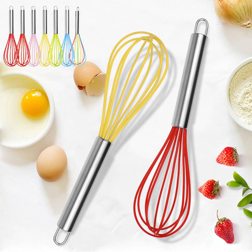 Mini Haushalt Küche Griff Schneebesen Mixer Ei Schläger Rührer Schlagen