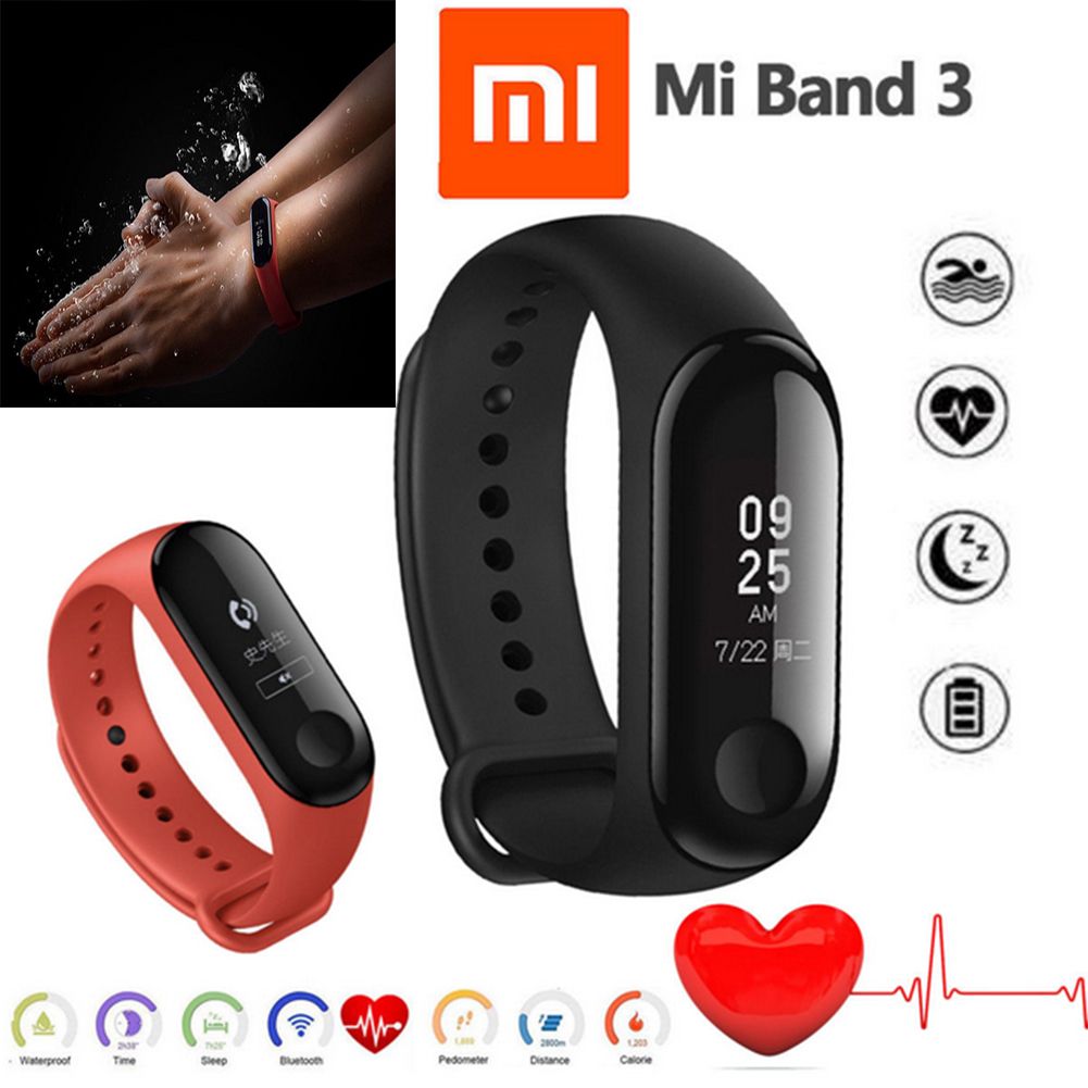 M3 Band 3 Smart Wristband Bracelet Watch Oled Touch Screen