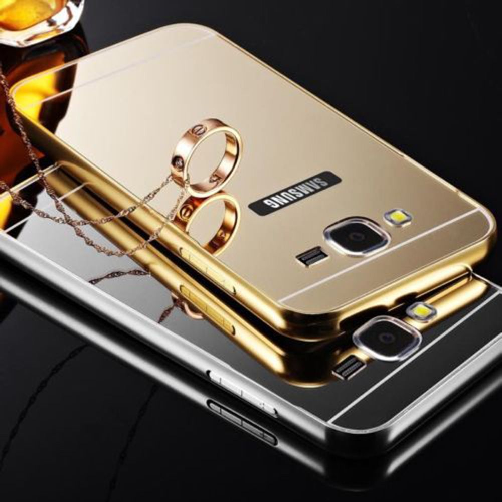 Luxury Aluminum Metal Bumper Frame Case Mirror Back Cover For Aluminium Xiaomi Redmi Note 4 Hard Casing Product Images