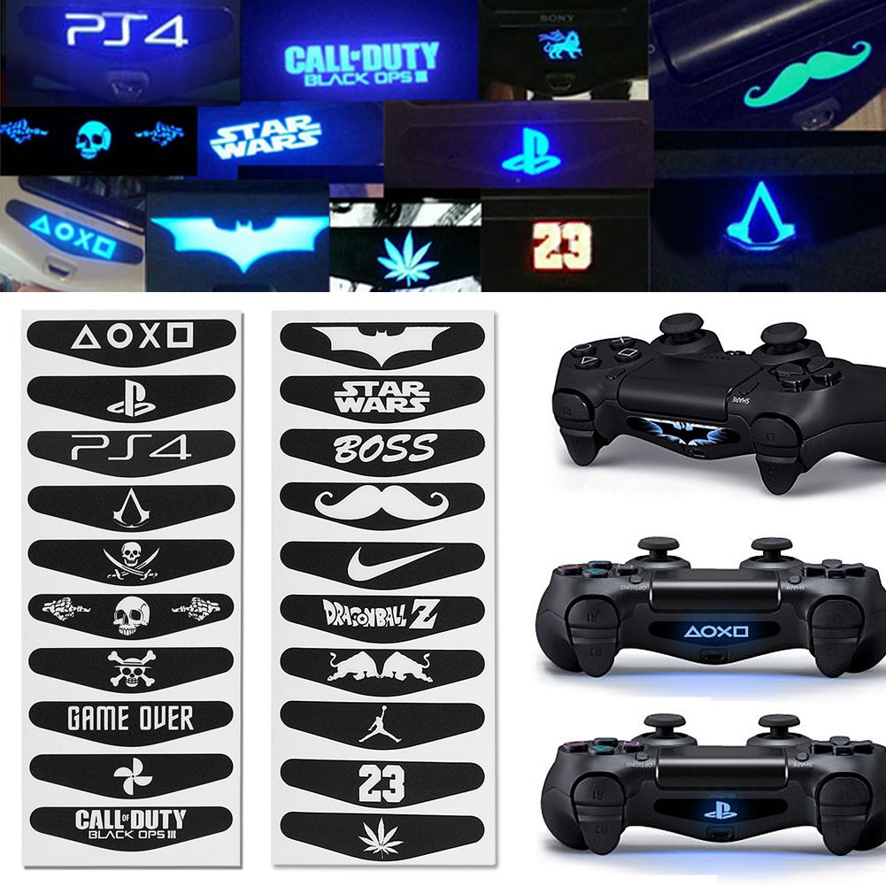 40pcs led light bar decal sticker for playstation 4 ps4 controller 40pcs led light bar decal sticker for playstation 4 ps4 controller new ebay aloadofball