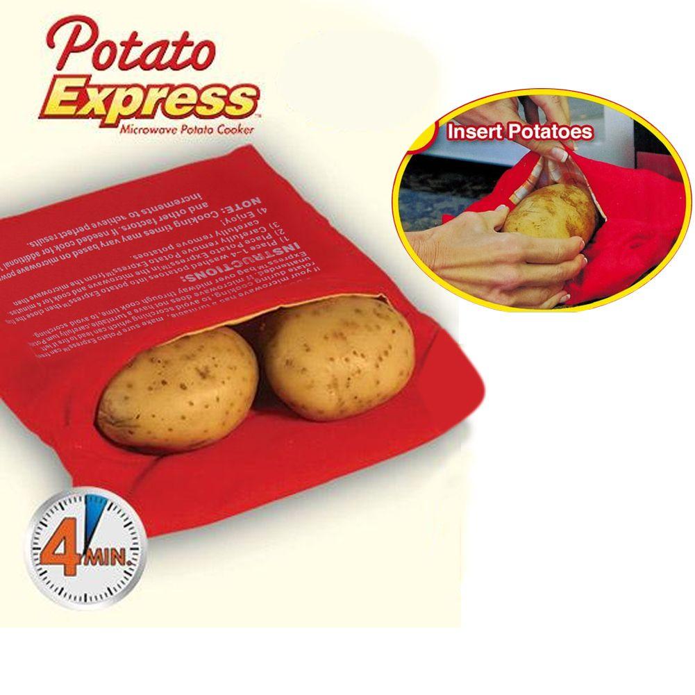 Four micro ondes lavables cooker sac pommes de terre la for Cuisson pommes de terre micro ondes sac plastique