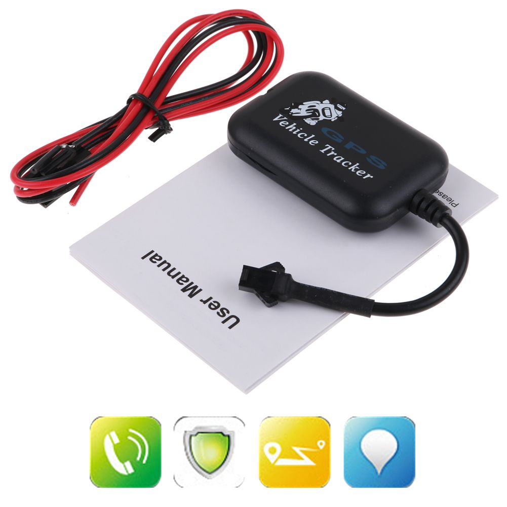 mini gps gsm gprs trackers vehicle motorcycle car sms real time tracking device ebay. Black Bedroom Furniture Sets. Home Design Ideas