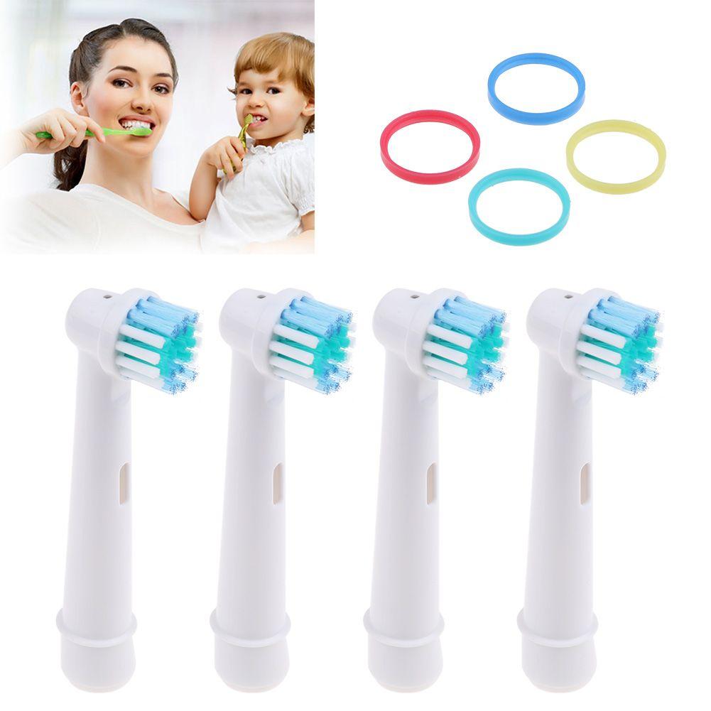 4x Recambios compatibles con Cepillo Dental Dientes Electrico Oral-B ... def6e89e4dfb