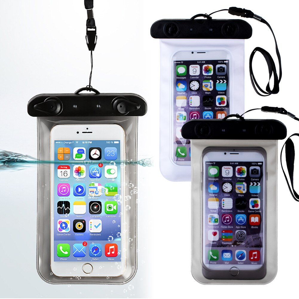 Transparent Waterproof Underwater Pouch Bag Dry Case Cover ...