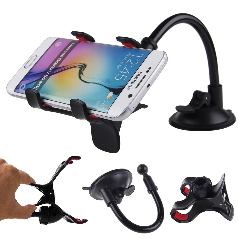 For iPhone GPS Car Windshield Suction Cup Stand Mount Holder Bracket Universal | eBay