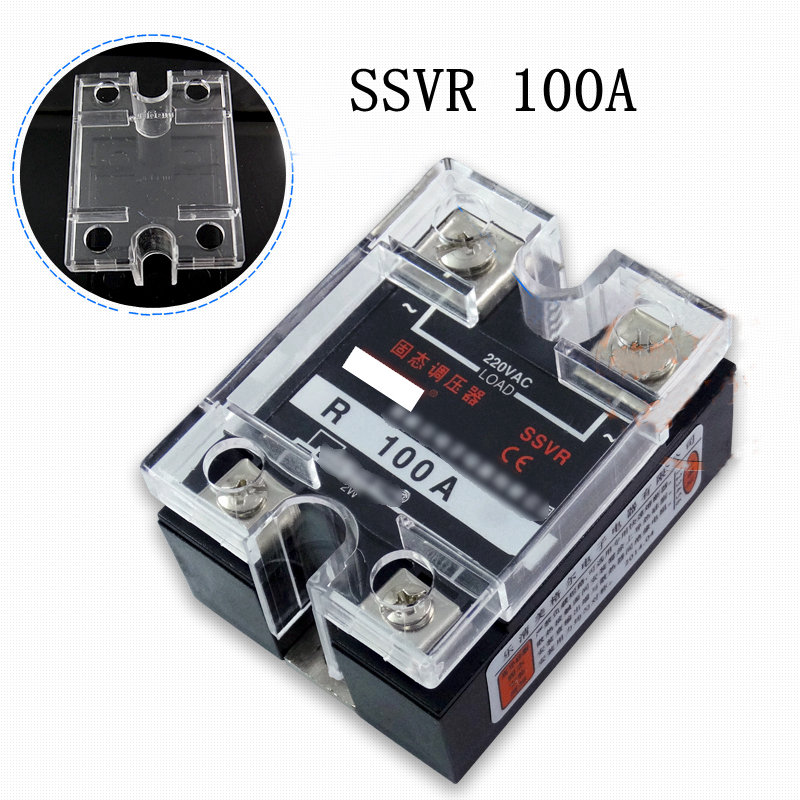 220V AC Single Phase SSVR 40A Solid State Voltage Regulator Relay