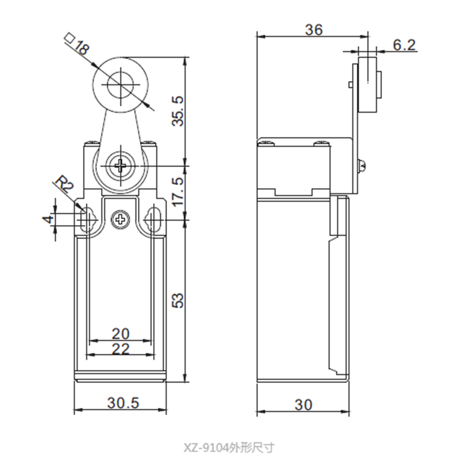 Xz 9104 104a 250vac No Nc Miniature Limit Switch Spdt Roller Arm Single Pole Double Throw Wiring Diagram Detail Product Itemxz 9103