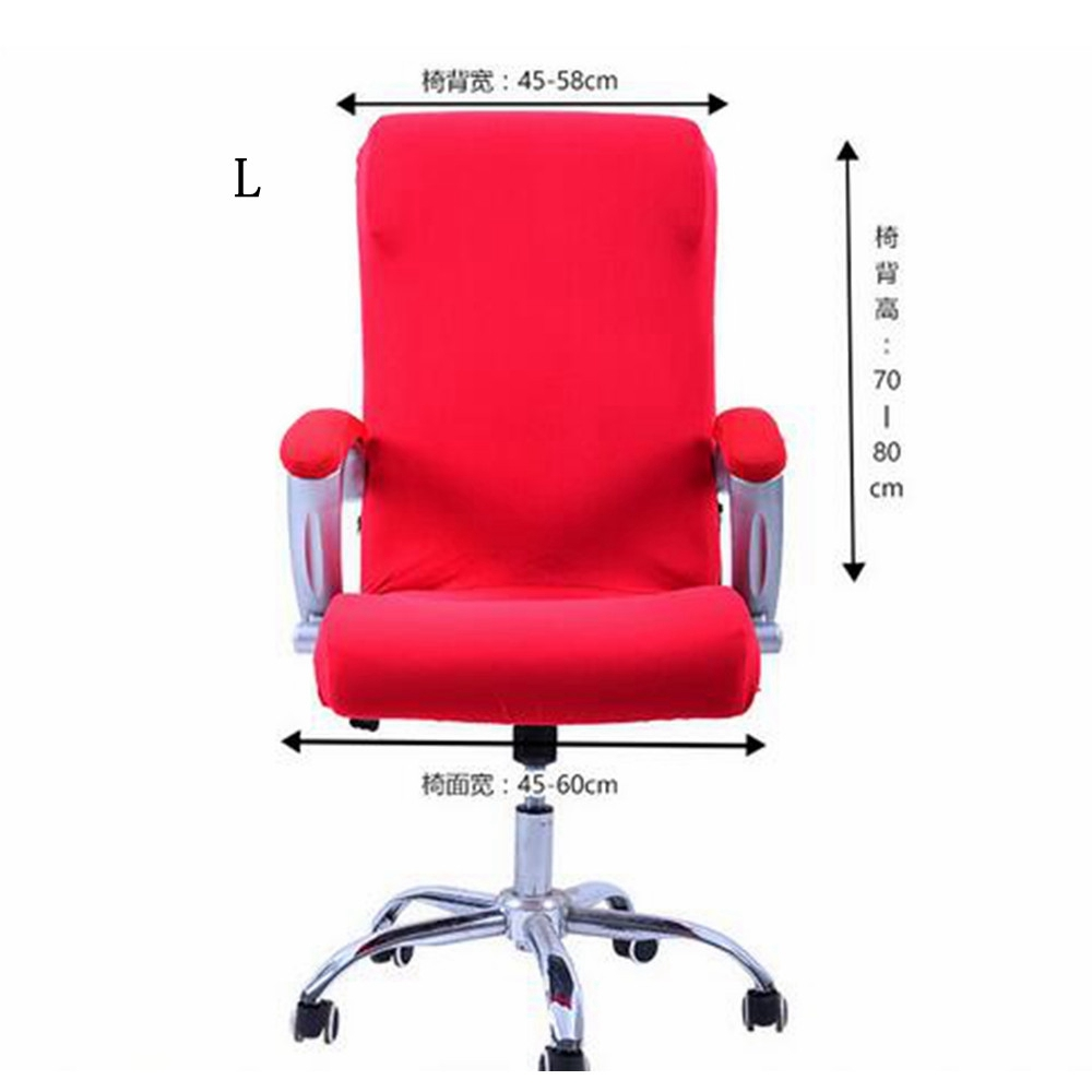 Swivel Computer Chair Cover Stretch Office Armchair