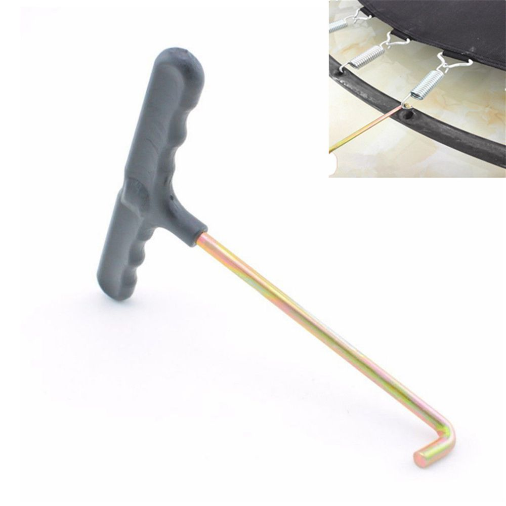 Trampoline Tool For Springs: Replacement Trampoline Mat Spring Pull Tool T-Hook Spring