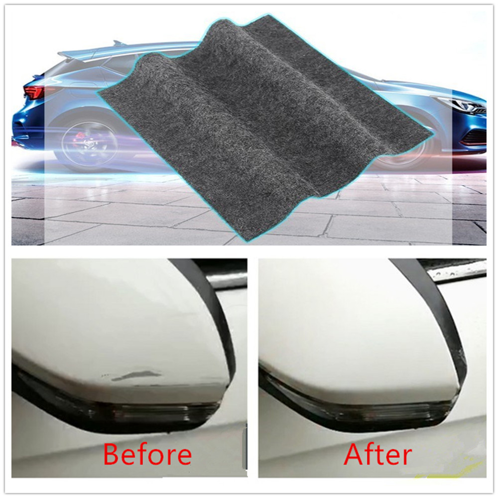 Amazing Car Remove scratches SCRATCH ERASER A Magical Cloth Clear Coat Fast Fix