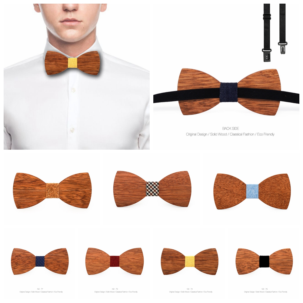 d5bb29be90ba Product Overview. Product Description. *Description: 1.Wooden bow tie ...
