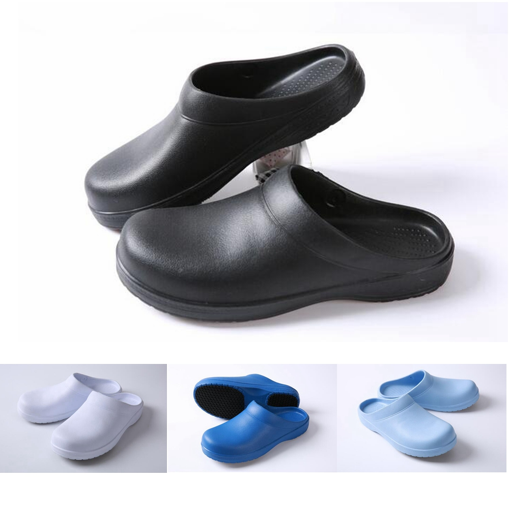 Men Women Chef Shoes In Kitchen Nonslip Safety Shoes Oil Water