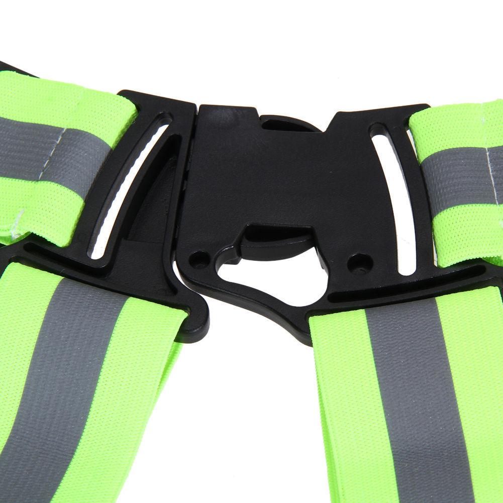 Security Safety Reflective Vest Belt Stripe Straps Night Running Fueltbelt Neon Jogging Biking