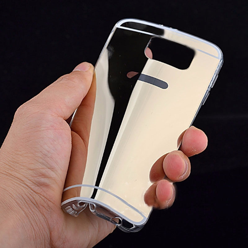 silikon tpu bumper spiegel case etui schutz h lle f r samsung iphone 7 7 plus ebay. Black Bedroom Furniture Sets. Home Design Ideas