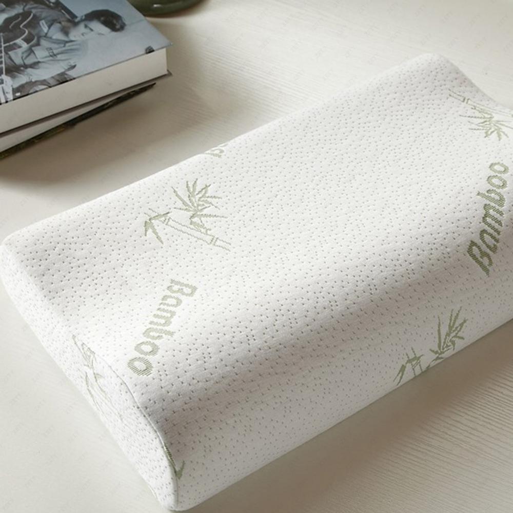 schlafkissen memory kissen nackenst tzkissen fiber bambusfaser schaum. Black Bedroom Furniture Sets. Home Design Ideas