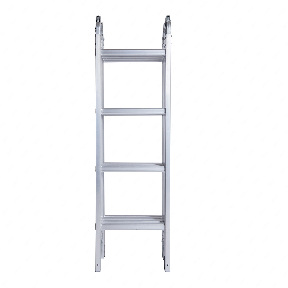 Multi Purpose Aluminum Ladder : Ft aluminum multi purpose ladder telescoping