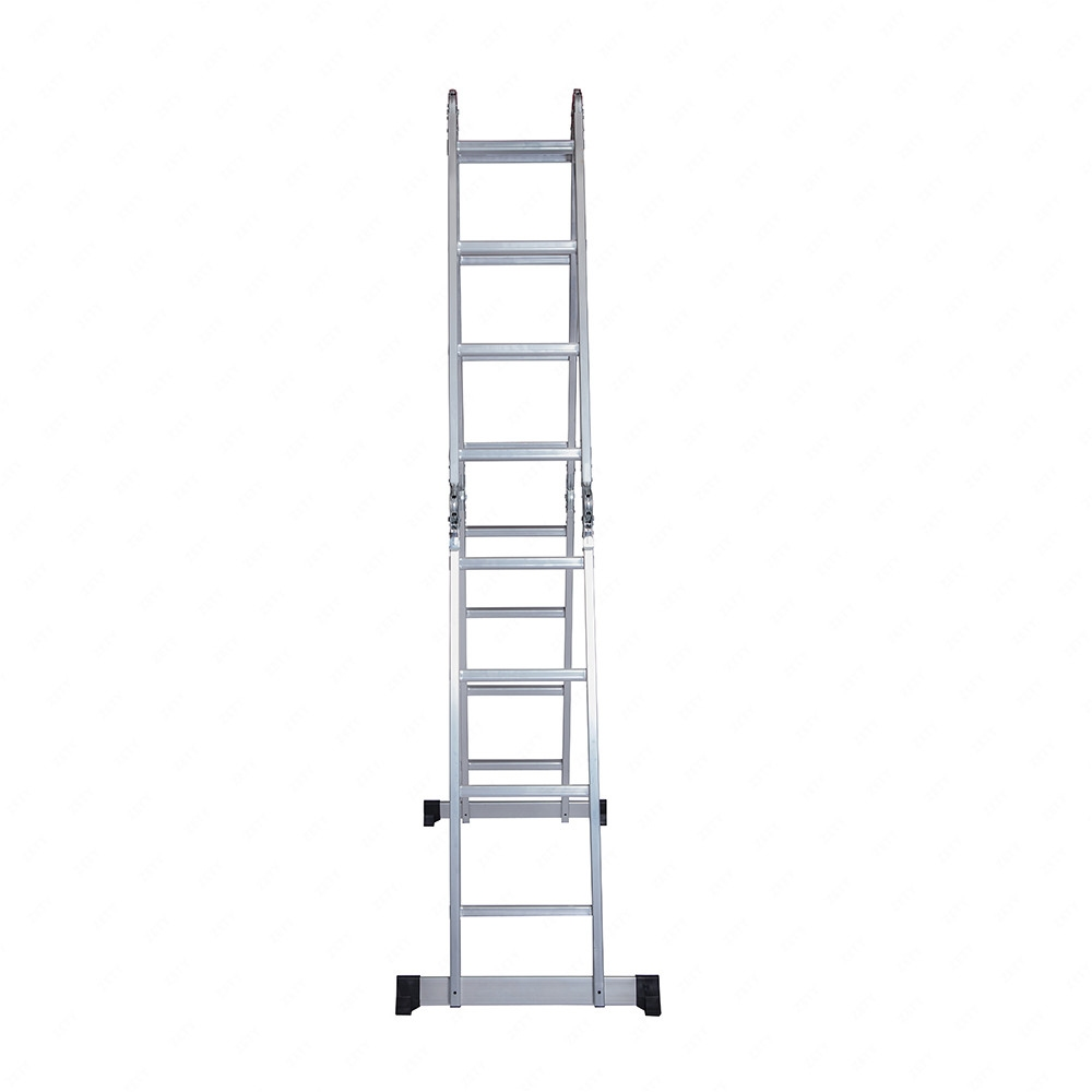 Aluminum Telescopic Ladder : Ft aluminum multi purpose ladder telescoping