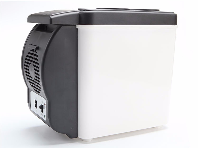 Coolers Electric Portable Heater : Portable v cooler heater car travel refrigerator