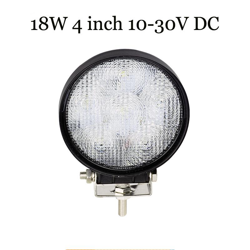 Led Tractor Lights 12v : Flood  w led working light for