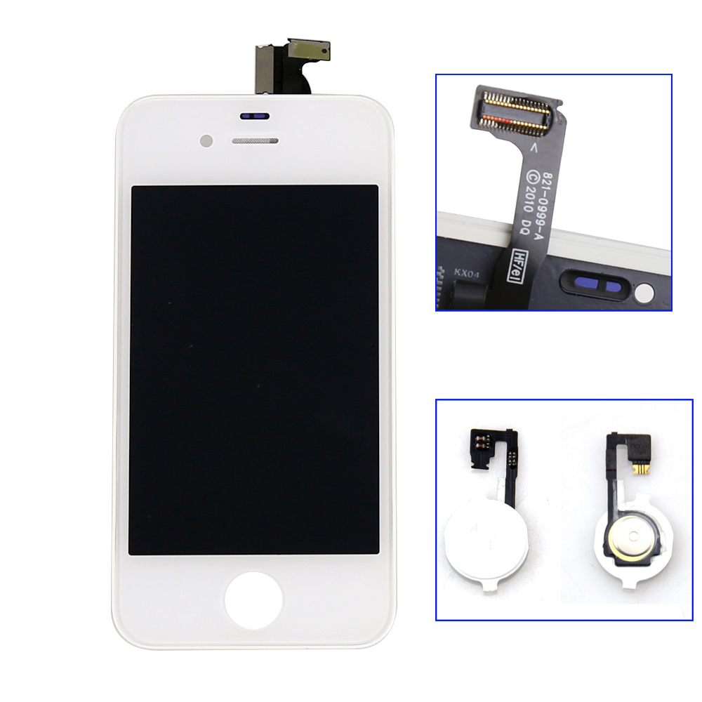 iphone home button on screen lcd display touch screen digitizer assembly home button 9767