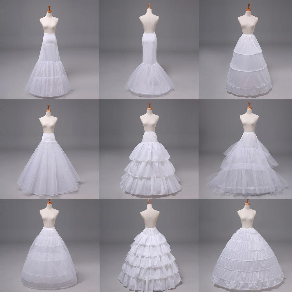 2018 Neu Petticoat Unterrock Kleid Unterkleid Reifrock Ringe ...
