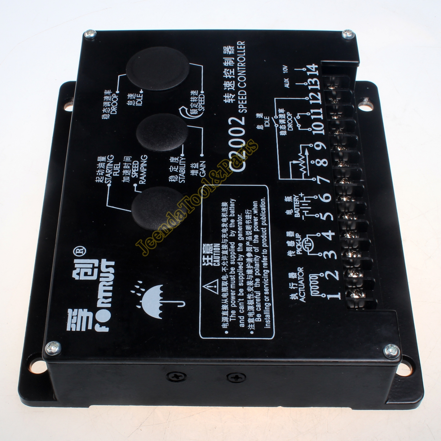 Speed Controller Governor Control Unit C2002 For Generator