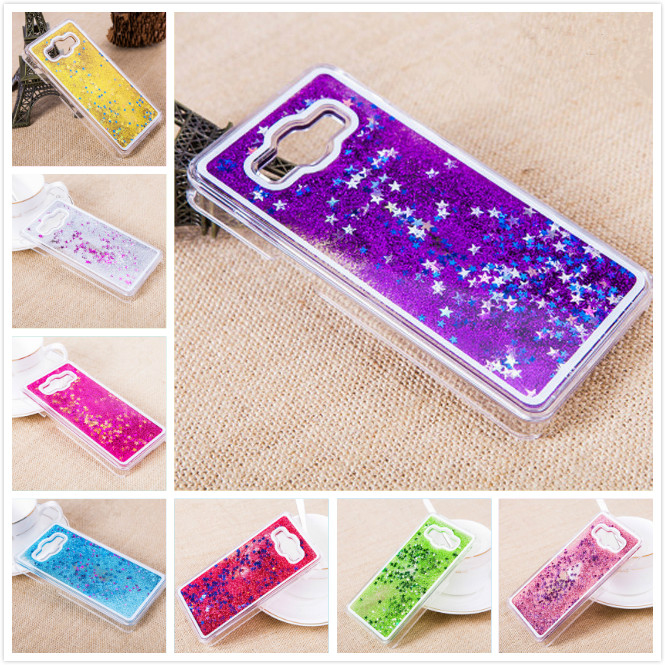 3D Glitter Quicksand Liquid Phone Case Cover For Samsung