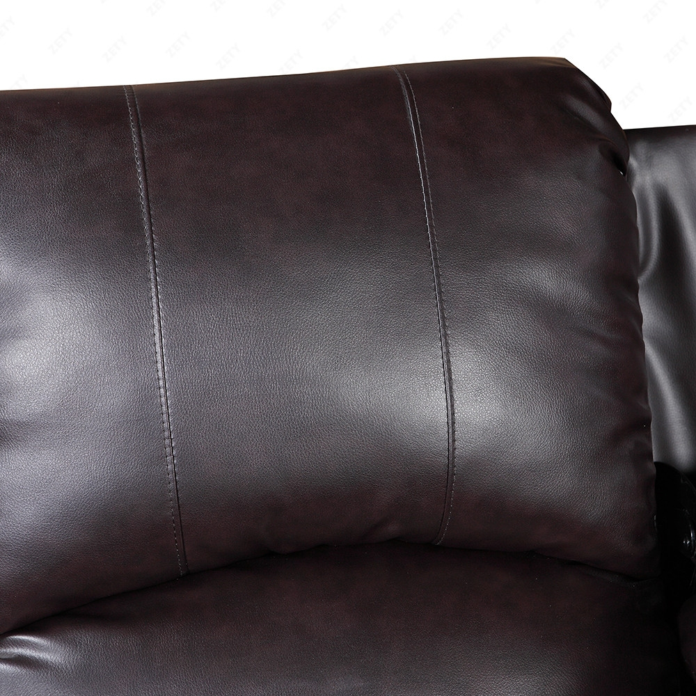 Elegant leather sofa 1 seater recliner chair lazy boy sofa Leather lazy boy sofa