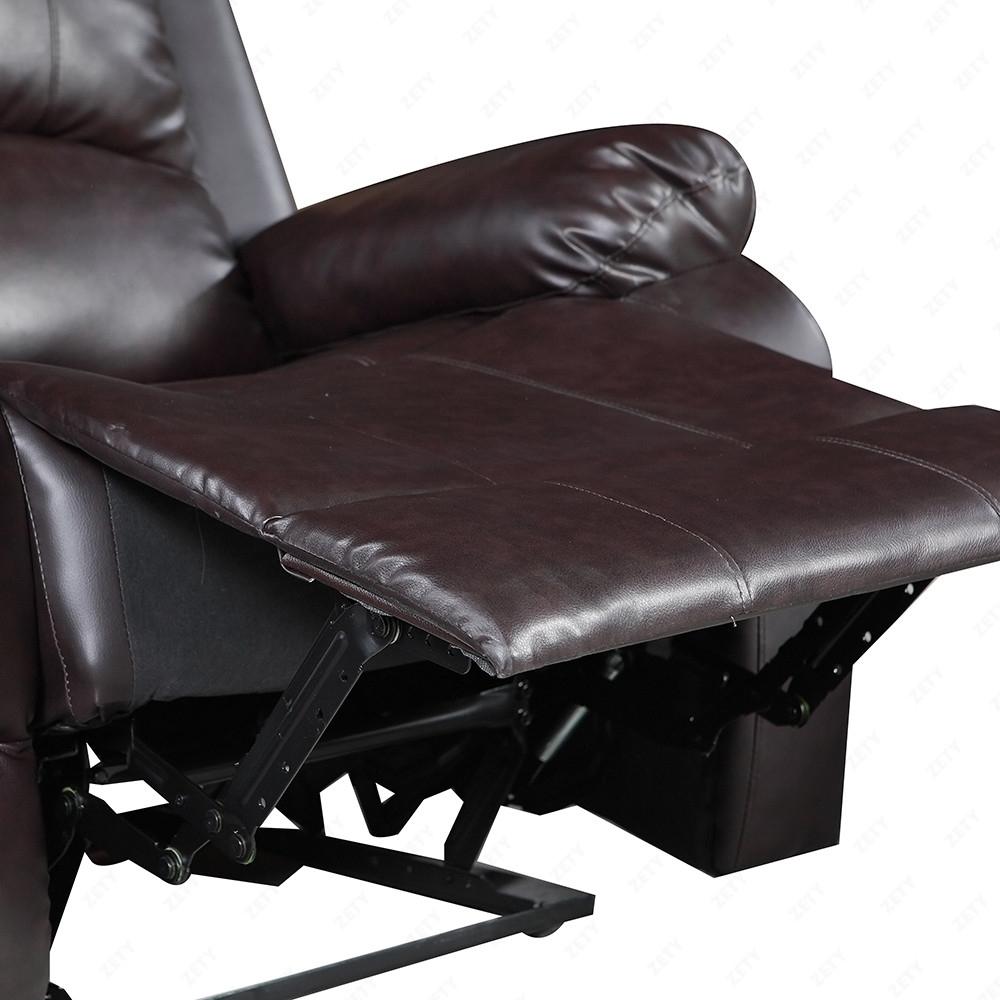 Elegant Leather Sofa 1 Seater Recliner Chair Lazy Boy Sofa