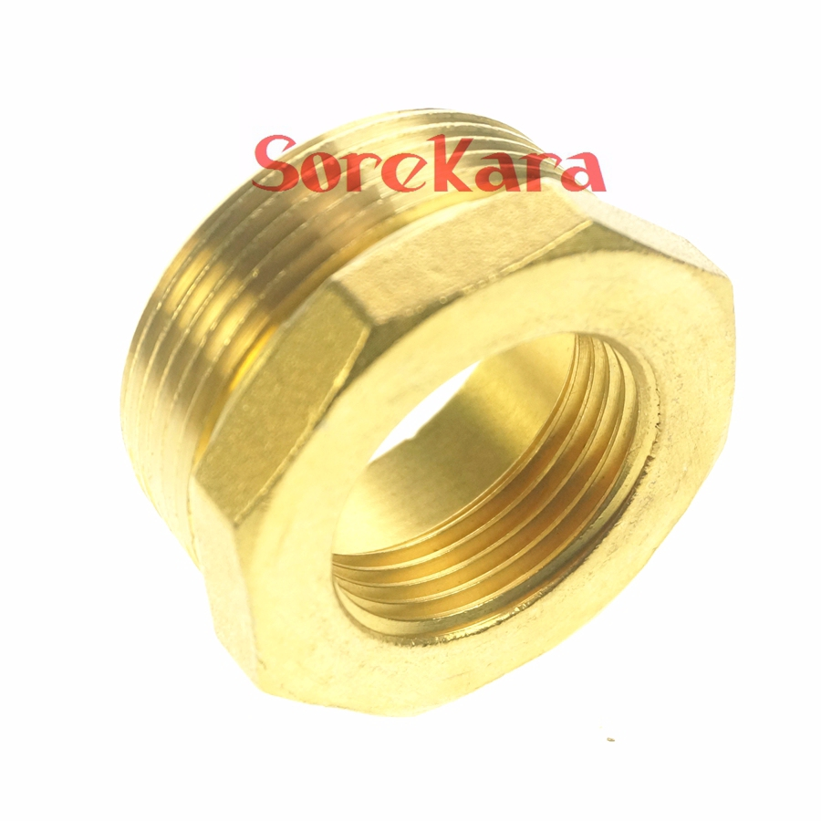 Brass reducer quot bsp male to female