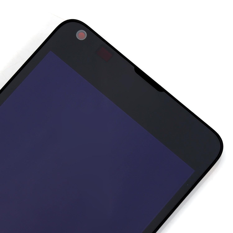 Neuf noir cran afficheur lcd vitre tactile ch ssis for Photo ecran lumia 640