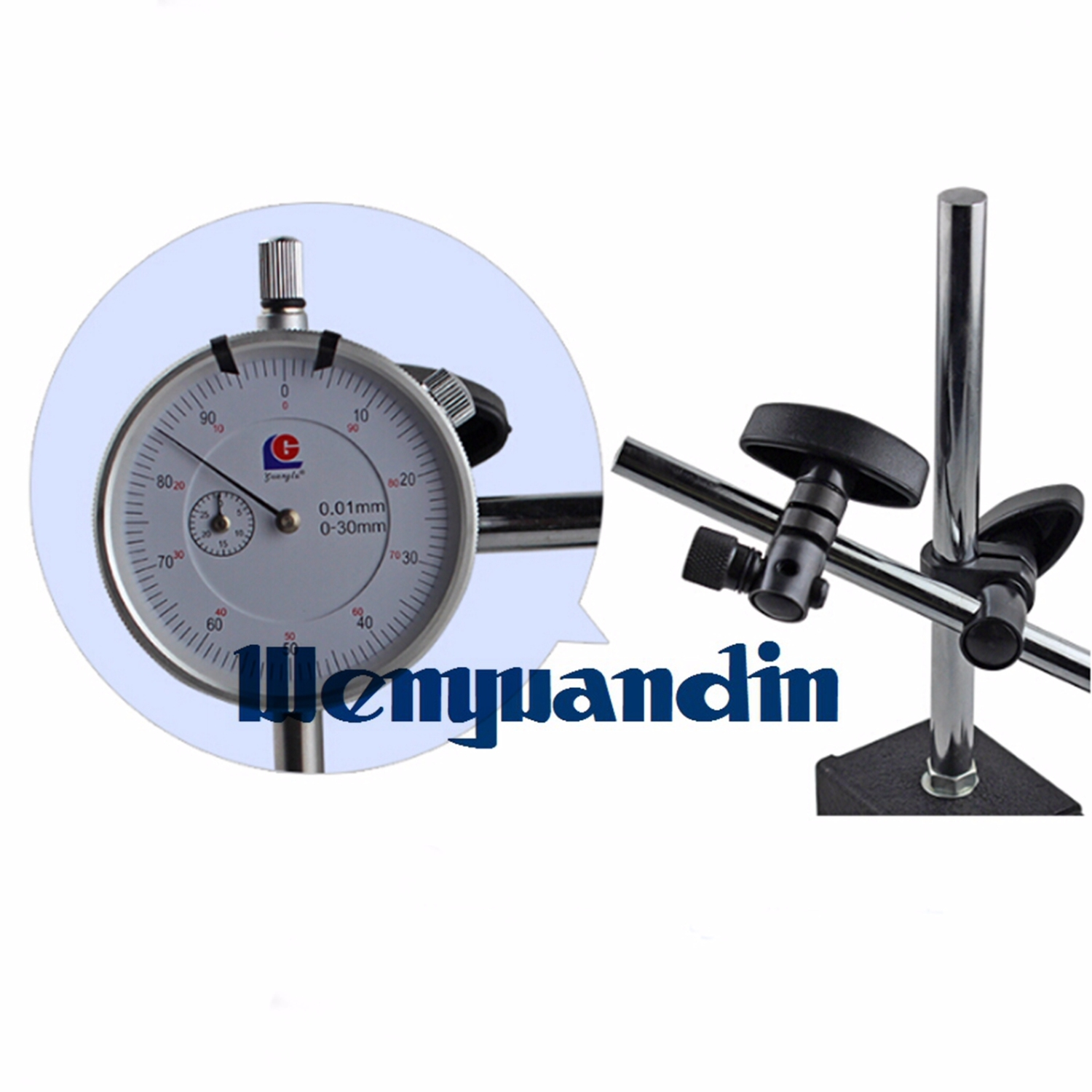 Three Axis Electronic Test Indicators : Magnetic base stand for digital dial test indicator